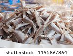 dried salted fish. salted fish...   Shutterstock . vector #1195867864