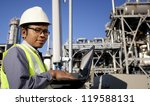engineer power and energy using ... | Shutterstock . vector #119588131