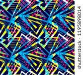 grunge urban seamless geometric ...   Shutterstock .eps vector #1195898014