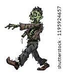 cartoon illustration of... | Shutterstock . vector #1195924657