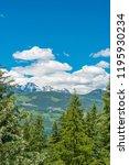 rocky mountains. mount burnham...   Shutterstock . vector #1195930234