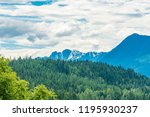 rocky mountains. mount burnham...   Shutterstock . vector #1195930237
