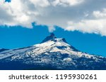 rocky mountains. mount burnham... | Shutterstock . vector #1195930261