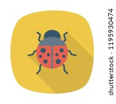 ladybird  animals wildlife | Shutterstock .eps vector #1195930474