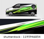 truck and van wrap design  for... | Shutterstock .eps vector #1195946854