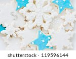 Beautifully Decorated Snowflak...