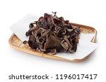 dried kikurage  wood ear... | Shutterstock . vector #1196017417