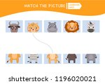 matching children educational... | Shutterstock .eps vector #1196020021
