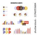 business idea visualisation... | Shutterstock .eps vector #1196053684