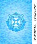 crossed bandage plaster icon... | Shutterstock .eps vector #1196073904