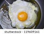 fried eggs | Shutterstock . vector #119609161