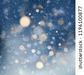 decorative template christmas... | Shutterstock .eps vector #1196100877