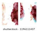 watercolor abstract background  ... | Shutterstock .eps vector #1196111437
