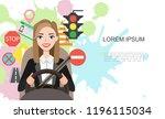 banner illustration of... | Shutterstock .eps vector #1196115034