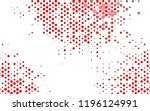 light red vector template with... | Shutterstock .eps vector #1196124991