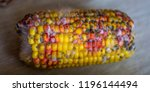 close up on rotten corn on the... | Shutterstock . vector #1196144494