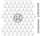 crossed bandage plaster icon... | Shutterstock .eps vector #1196151454