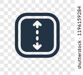 double arrow vector icon... | Shutterstock .eps vector #1196159284