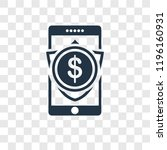 smartphone vector icon isolated ...