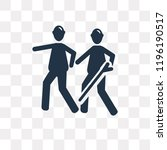blind vector icon isolated on... | Shutterstock .eps vector #1196190517