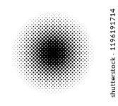 half tone circle | Shutterstock .eps vector #1196191714