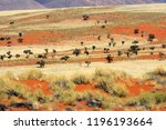 beautiful colors in the namib... | Shutterstock . vector #1196193664