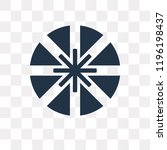 dharma vector icon isolated on... | Shutterstock .eps vector #1196198437