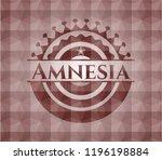 Amnesia Red Seamless Emblem Or...