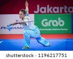 jakarta  indonesia   august 18  ... | Shutterstock . vector #1196217751