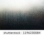 water drops on window glass ... | Shutterstock . vector #1196230084