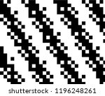 pattern in the style of 8 bit... | Shutterstock .eps vector #1196248261