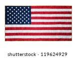 american flag | Shutterstock . vector #119624929