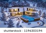 3d rendering of modern cozy... | Shutterstock . vector #1196303194