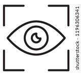 focus position  called precision | Shutterstock .eps vector #1196306341