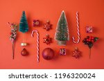 christmas holiday background... | Shutterstock . vector #1196320024