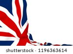 waving flag of the great... | Shutterstock . vector #1196363614