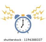 clock timer time alarm | Shutterstock .eps vector #1196388337