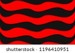 red black wavy background | Shutterstock .eps vector #1196410951