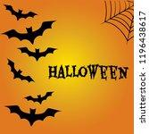 halloween background. all...   Shutterstock .eps vector #1196438617