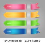 vector illustration of set of... | Shutterstock .eps vector #119646859
