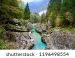 socha river  slovenia   Shutterstock . vector #1196498554