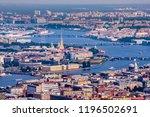 saint petersburg. panorama of... | Shutterstock . vector #1196502691
