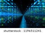 3d illustration. data storage... | Shutterstock . vector #1196511241