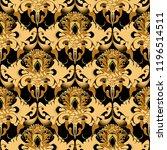 ornate paisley vector seamless... | Shutterstock .eps vector #1196514511