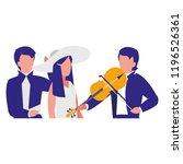 symphony orchestra design   Shutterstock .eps vector #1196526361