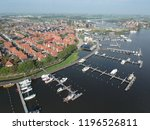 dronephoto from the little... | Shutterstock . vector #1196526811