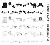 manipulation by hands cartoon... | Shutterstock .eps vector #1196548057