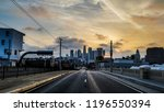 los angeles sunset | Shutterstock . vector #1196550394