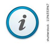 info button illustration | Shutterstock .eps vector #1196553967