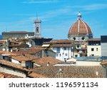 landscape of florence | Shutterstock . vector #1196591134